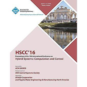 HSCC 16 19th ACM International Conference on Hybrid Systems - Computat
