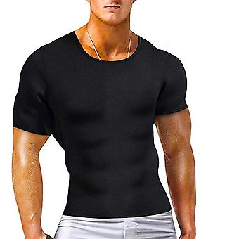 Men's Hot Thermo Body Shaper T-paita