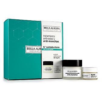 Bella Aurora B7 Piel Mixta Grasa b7 kerma 50 ml + Silmän ääriviivat 15 ml