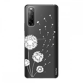 Runko Sony Xperia 10 Ii Silikonissa Taipuisa 1 mm, Pissenlit Flower