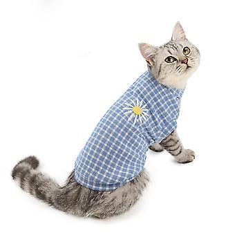 Vêtements de chat automne et vêtements d'animal familier d'hiver