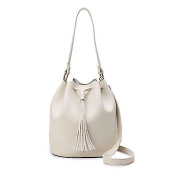 Borsa a secchiello a tracolla Vintage Tassel, borse a tracolla donna