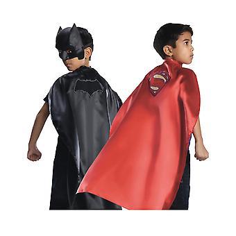 Cape réversible Batman VS Superman enfant