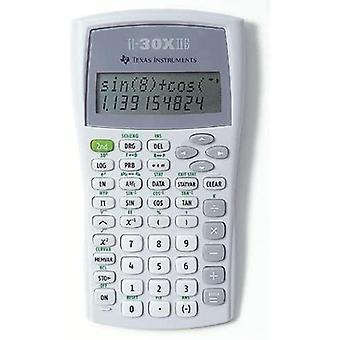 Texas TI30X-IIB Schulrechner (Batteriebetrieb 118,7, B 82 x L 155 x H 19) wei