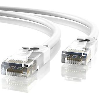 FengChun 50m Ethernet Netzwerk Netzwerknetzwerk | Patchkabel | CAT6, AWG24, CCA, UTP, RJ45 (50 Meter,