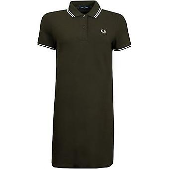 Fred Perry Twin Tipped Pique Logo Polo Dress