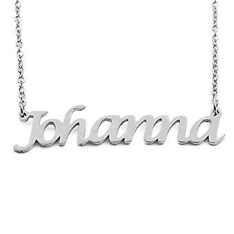 Kigu Johanna Anpassat namn justerbart kedjehalsband - SilverFörpackning