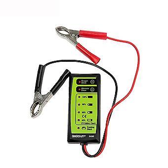 For ALL SUN GK503 12V Auto Battery Tester for Charger/Alternator/Battery Check LCD Digital Battery Test WS41859