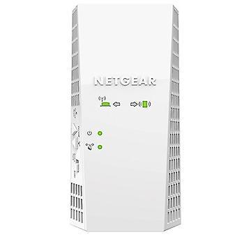 NETGEAR רשת WiFi מהדר (EX7300), AC2200 WiFi מגבר, WiFi Booster, 2.2 ג'יגה-סיביות / ים, מהדר WiFi רב עוצמה תואם לכל תיבות האינטרנט, 1 שם רשת יחיד נדידה שקופה -לבן