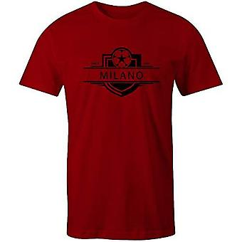 Sporting empire ac milan 1899 established badge kids football t-shirt