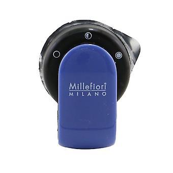 Millefiori Go Car Air Freshener - Sandalo Bergamotto (Blue Case) 4g/0.14oz