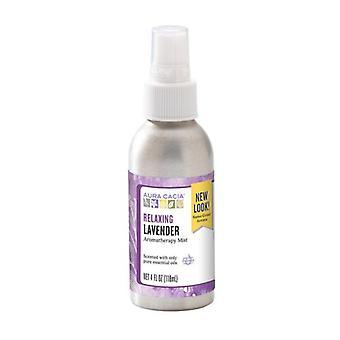 Aura Cacia Aromatherapy Mist, Lavender 4 oz