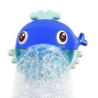 الحوت الأزرق 12 أغنية موسيقية سرطان البحر صانع فقاعة الأطفال الأطفال حمام دش لعبة az13525