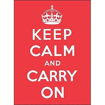 Håll dig lugn och fortsätt goda råd för svåra tider av Andrews McMeel Publishing