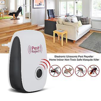 Electronic Ultrasonic Pest Repeller Home Indoor Non tossico Sicuro Mosquito Killer