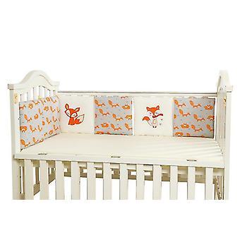 Baby Bed Fence Cushion(Fox)
