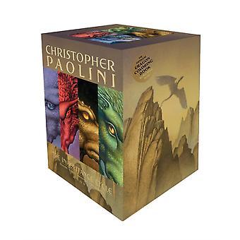 The Inheritance Cycle 4Book Trade Paperback Boxed Set  Eragon Eldest Brisingr Inheritance by Christopher Paolini