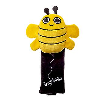 Milk&Moo Buzzy Bee Seat Belt Pillow For Kids, Ultra Soft Head, Neck, Shoulder Support in Car, Seatbelt Covers for Kids, Toddler Seat Belt Cushion, Animal Travel Pillow