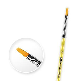 弾薬 バイ ミグ - 合成フラット ブラシ サイズ 4
