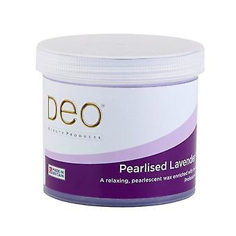 DEO Pearlised Lavender Depilatory Wax Lotion för Premium Vaxning - 425g