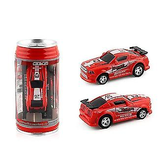 2019 Hot 4 colors 20km/h coke can mini rc car radio remote control micro racing car 4 frequencies