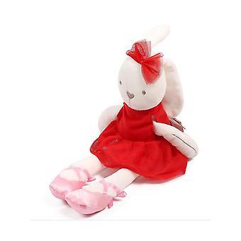 Mimigo Ballerina Bunny gefüllte Tier entzückende weiche Plüsch Spielzeug Kaninchen Puppe Mädchen Geschenk auf Geburtstag Weihnachtsfeste
