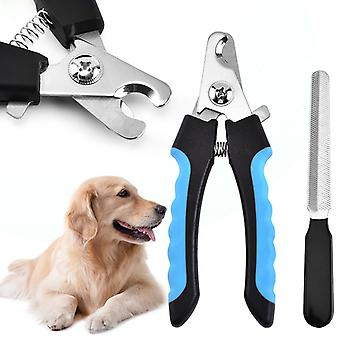 Dog Nail Clippers For Dog Clippers And Cat Nail Clippers - Stainless Steel Dog Grooming Pet Nail Clippers