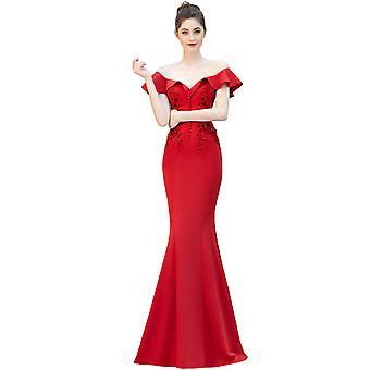 Elegant lång prom maxi klänning för ceremonier