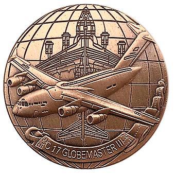 Char de chasse hélicoptère Collection de pièces commémoratives Badge Pièce de monnaie Lucky Médaille commémorative