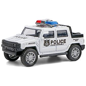 Polizei Spielzeug Auto Modell Zurückziehen Auto Geschenk Die-Casting Off-Road Junge