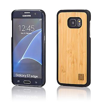 32nd Wooden Back case for Samsung Galaxy S7 Edge (SM-G935) - Bamboo