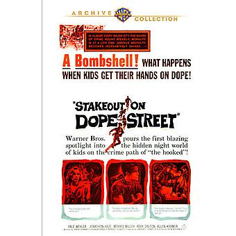 Stakeout on Dope Street [DVD] USA import