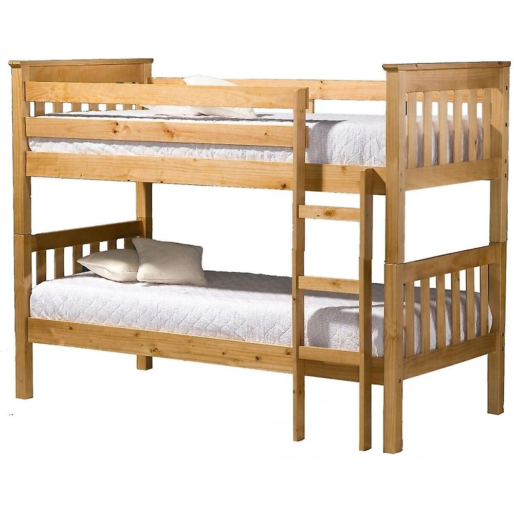 birlea seattle bunk bed pine for