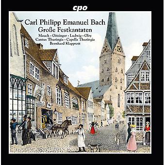 Bach, C.P.E. / Mauch / Oitzinger / Olry - festlig kantater [CD] USA import