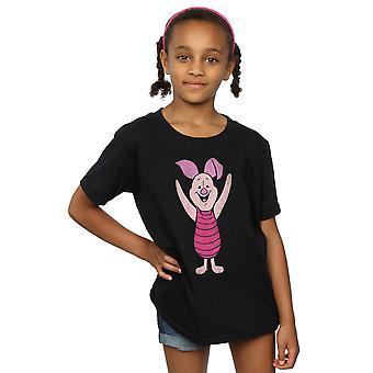 Disney Girls Winnie The Pooh Classic Piglet T-Shirt