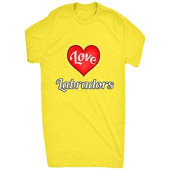 Renommierten ich liebe Herzen Labradors