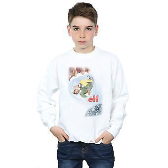 Elf Boys Distressed Poster Sweatshirt