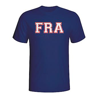 France Country Iso T-shirt (navy) - Kids