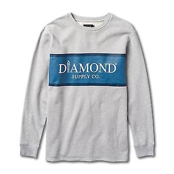 Diamond Supply Co Mayfair Sweatshirt Grey
