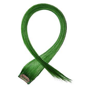 Grønn - klippet i håret striper