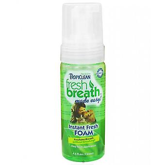 Tropiclean Fresh Breath Mint Foam For Dogs