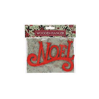 CGB Giftware Christmas Wooden Noel Hanging Sign