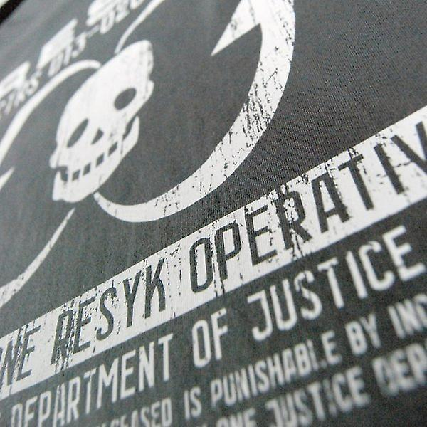 Honcho SFX Mens Dredd RESYK Operative T Shirt Grey