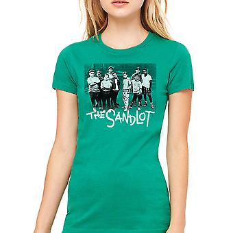 Sandlot Team Women's Kelly Green T-shirt