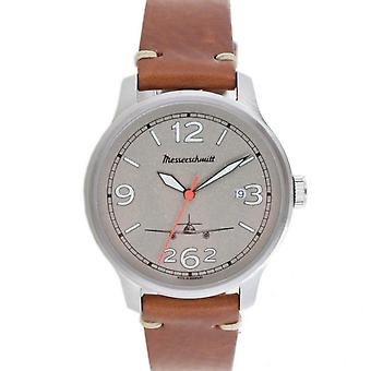 Aristo gentlemen Messerschmitt Fliegeruhr ME-262-42V leather watch