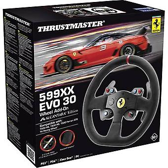 Thrustmaster 599XX EVO 30 Alcantara edição Steering roda complemento um Xbox, PlayStation 3, PlayStation 4, PC Black