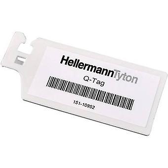 HellermannTyton 151-10952 QT7040S Bleimarker Schreibfläche: 70 x 42 mm Weiß 1 Stk.