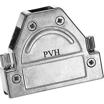 Provertha 1709DC25001 1709DC25001 D-SUB housing Number of pins: 9 Metal 180 ° Silver 1 pc(s)