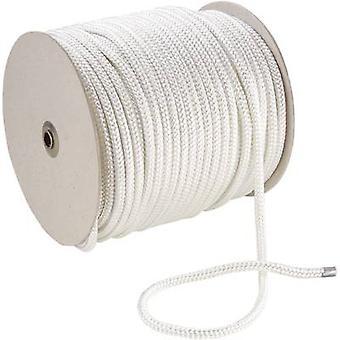 Polyester rope (Ø x L) 6 mm x 100 m 20069 White