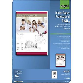 Sigel Inkjet Paper Professional IP286 Inkjet printer paper A4 160 gm² 100 sheet Bright white